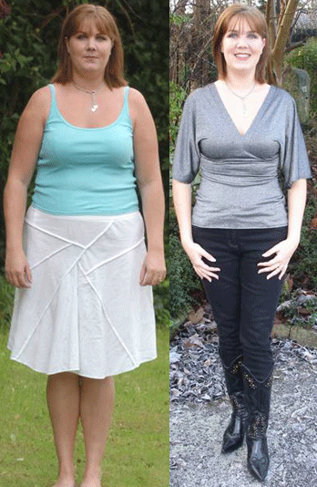 Before and After Photos: This woman claims she lost all her weight by consuming Acai Berry.