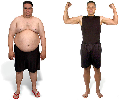 Before and After Photos: David Fagan managed to lose a very large amount of weight dieting and exercising.