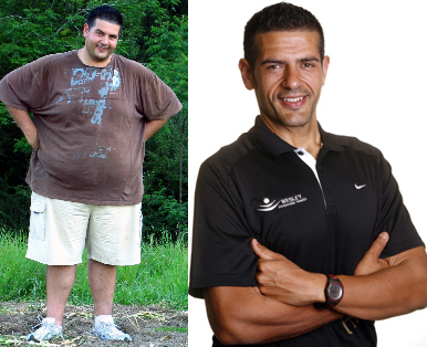 Before and After Photo: Sharafi managed to lose 72 kilograms in his major weight loss transformation. Well done Sharif.